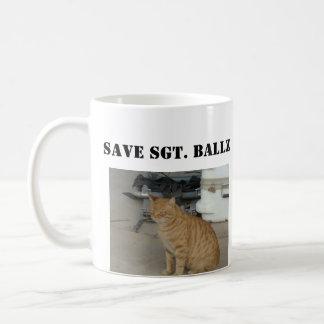 SAVE SGT. BALLZ MUG