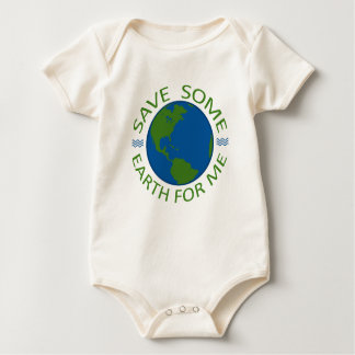 Save Some Earth For Me Baby Bodysuit