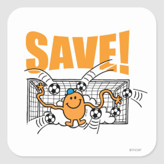 Save! Square Sticker