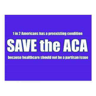 Save the ACA Postcard