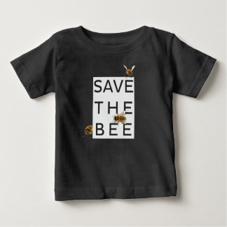 Save the Bee! Save the World! Boxed Bee Baby T-Shirt