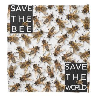 Save the Bee! Save the World! Boxed Bee Bandana
