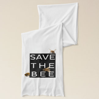 Save the Bee! Save the World! Boxed Bee Scarf