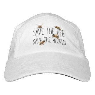 Save the Bee! Save the World! Live Design Hat