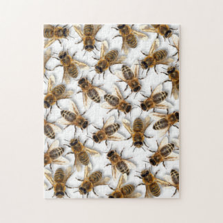 Save the Bee! Save the World! Live Design Jigsaw Puzzle