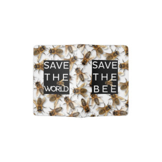 Save the Bee! Save the World! Live Design Passport Holder