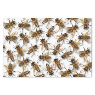 Save the Bee! Save the World! Live Design Tissue Paper