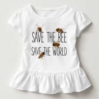Save the Bee! Save the World! Live Design Toddler T-shirt