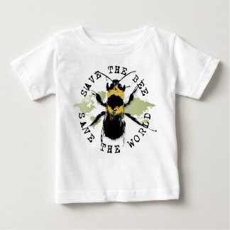 Save the Bee! Save the World! Medallion Collection Baby T-Shirt