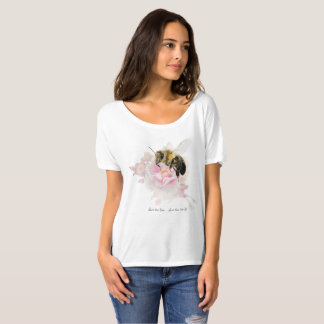 Save the Bee! Save the World! Pretty Bee T-Shirt