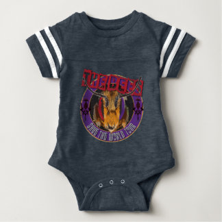 Save the Bee! Save the World! Rock & Roll Bee Baby Bodysuit