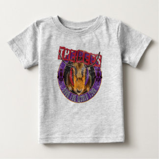 Save the Bee! Save the World! Rock & Roll Bee Baby T-Shirt