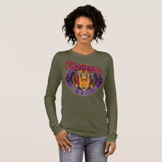 Save the Bee! Save the World! Rock & Roll Bee Long Sleeve T-Shirt