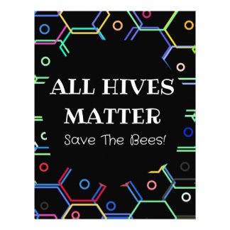 Save The Bees - All Hives Matter Custom Letterhead