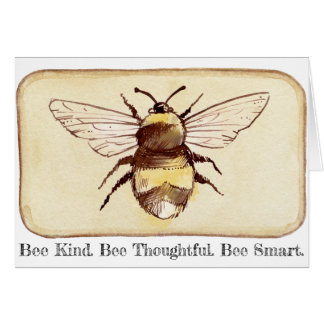 Save The Bees Bee Kind Card