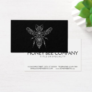 save the bees business card