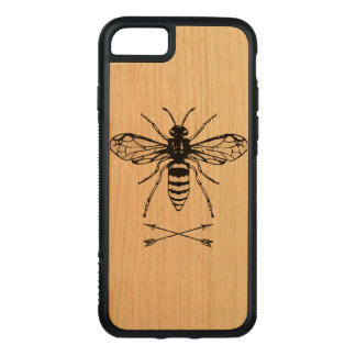 Save the bees carved iPhone 8/7 case
