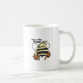 Save the Bees - Honey Bee Coffee Mug