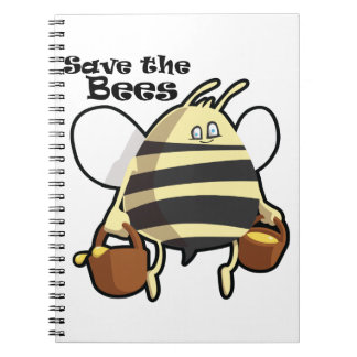 Save the Bees - Honey Bee Notebooks