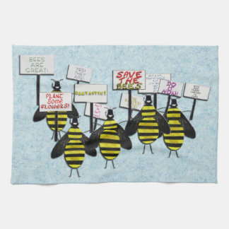 Save the Bees Kitchen Towel