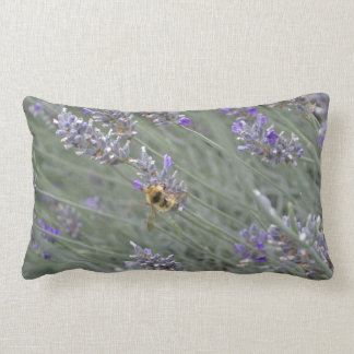 Save the Bees: Lavender Lumbar Pillow