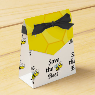 Save the Bees Party Favor Box