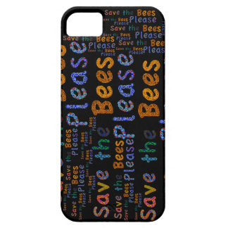 Save the Bees Please iphone case