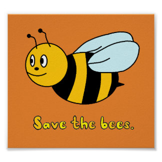 'Save the Bees' Poster