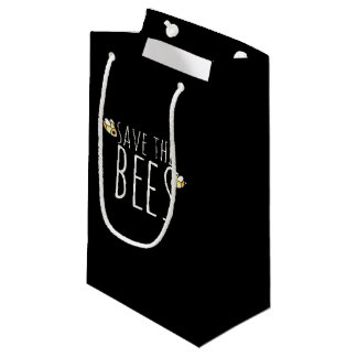 Save the bees small gift bag