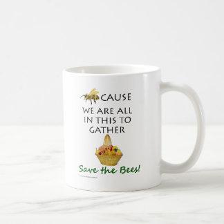 Save The Bees Together Mug