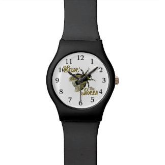 Save the Bees vintage illustration Watch