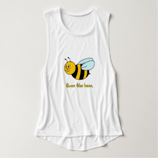 'Save the Bees' (Women's) Tank Top