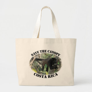 Save the Canopy-Costa Rica Large Tote Bag