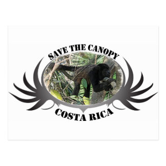 Save the Canopy-Costa Rica Post Card