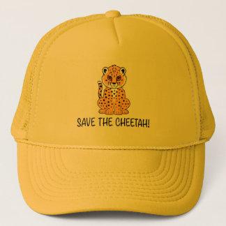 Save the Cheetah Trucker Hat