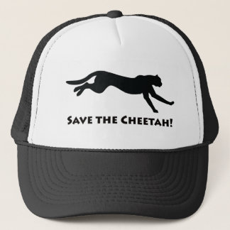 Save the Cheetah Trucker Hat