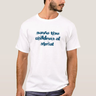 save the children of syria tee