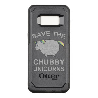 Save The Chubby Unicorns OtterBox Commuter Samsung Galaxy S8 Case