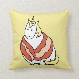 Save The Chubby Unicorns Throw Pillow