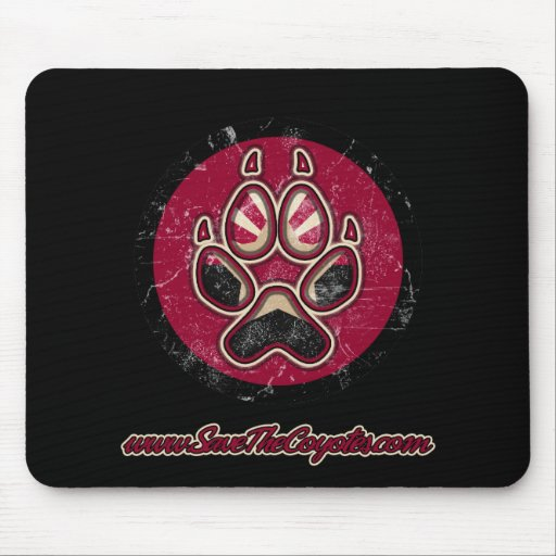 Save the Coyotes Mouse Pad