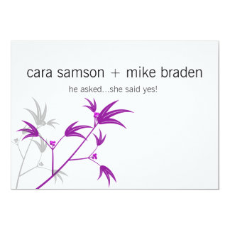 "SAVE THE DATE 5"" X 7"" INVITATION CARD"