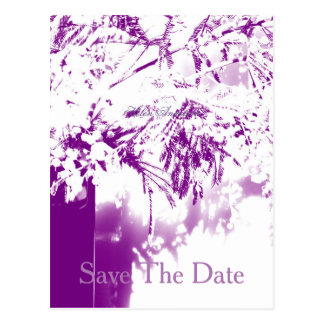 Save the Date 80th Birthday Flower Bouquet Custom Postcard