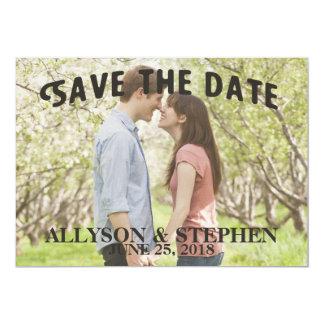 Save the Date Announcement invitation