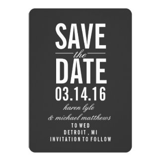 Save the Date Announcement | SAVE the DATE