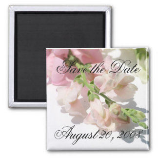 Save the Date Announcement Snapdragon Magnet