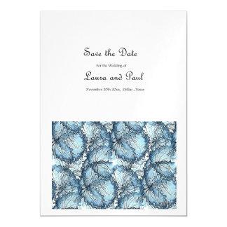 Save the Date Artistic Wedding Invitation