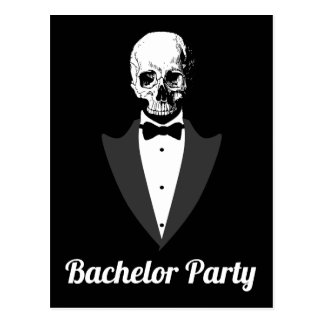 Save The Date Bachelor Party Postcard