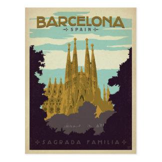 Save the Date   Barcelona, Spain Sagrada Familia Postcard