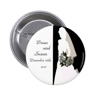 Save the Date Bridal Shower Button Template