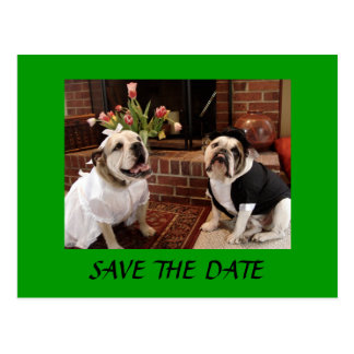 SAVE THE DATE Bulldogs Postcard